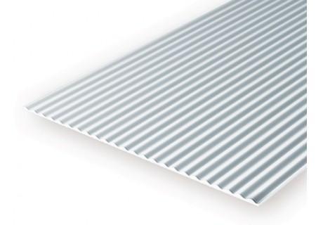 Pb modelisme mat riaux evergreen plaque t le ondul - Tole acier 5mm ...